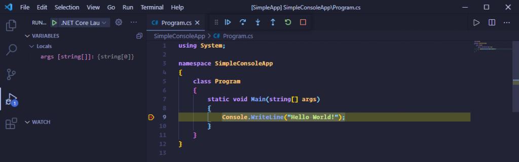 [.NET大牛之路 009] 使用 VSC 开发 .NET 应用
